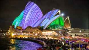 Vivid Sydney lights the Opera House